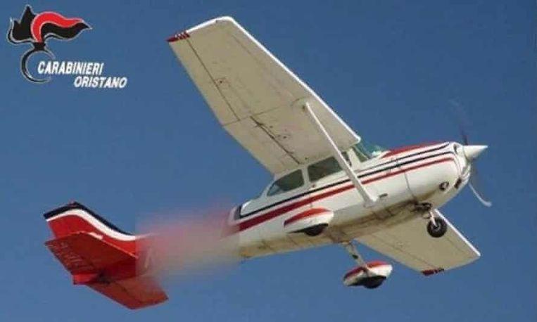 Dit zou het betrokken sportvliegtuigje zijn. Beeld Italiaanse politie
