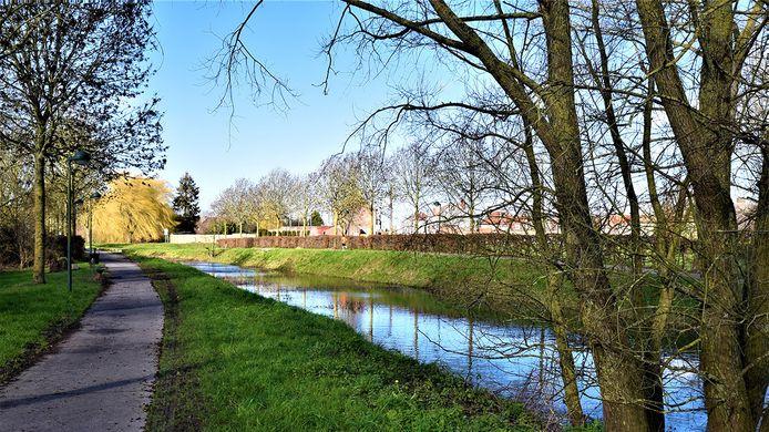 Het kanaal is een mooi natuurgebied geworden.
