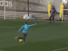 Coup du foulard dans la lucarne: Eden Hazard régale à l'entraînement du Real