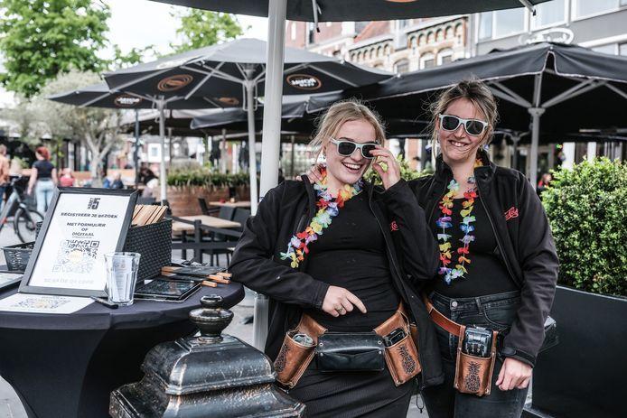 Serveersters van Markt 5 in Lichtenvoorde.