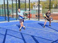 'Bij tennis was ik een echte hardhitter, maar bij padel moet je juist rustiger slaan'
