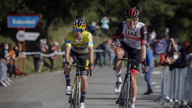 Pogacar troeft Roglic af in loodzware etappe Ronde van het Baskenland, Vansevenant negende