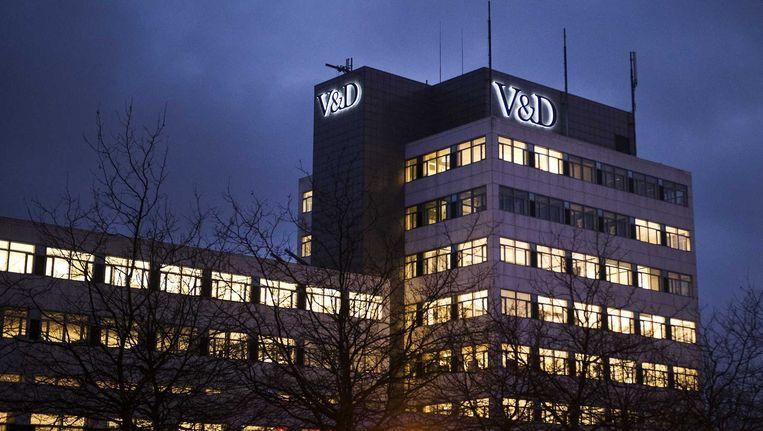 Exterieur van het hoofdkantoor van V&D. Beeld anp