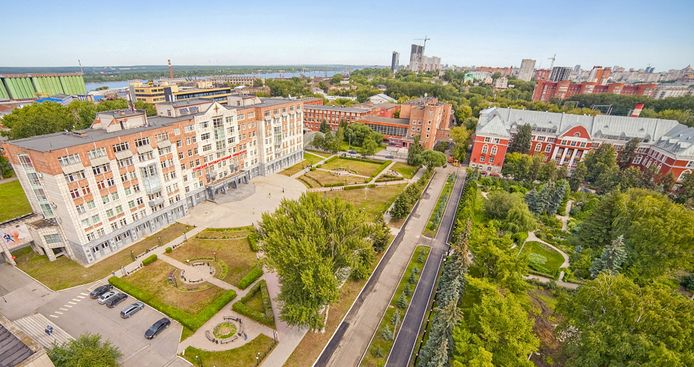Le campus universitaire de Perm