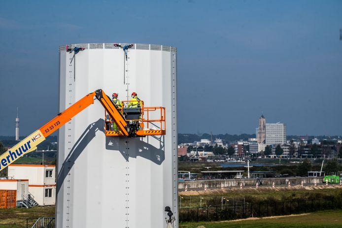windmolens aan de pleijroute Arnhem