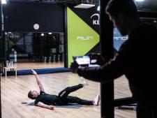 Lege sportschool in normaal zo drukke januarimaand: 'Proberen onze leden in beweging te houden'