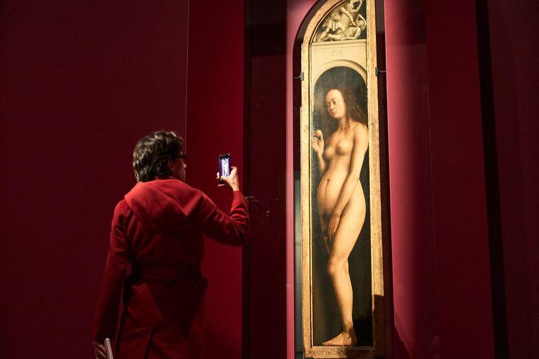 De expo van 'Van Eyck. Een optische revolutie' loopt nog tot eind april in het Museum voor Schone Kunsten in Gent. Beeld RV/David Levene