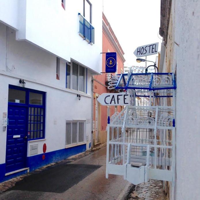 Het hostel in Albufeira waar de meisjes verbleven