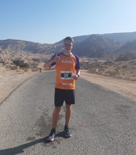 De kwelling van Bjorn in de woestijn van Jordanië zit erop: 'De hellingen waren soms te steil om tegenop te rennen'