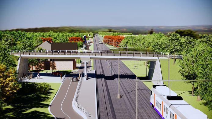 De zeven overwegen worden vervangen door fiets- en voetgangersbruggen, tunnels en een fietssnelweg.