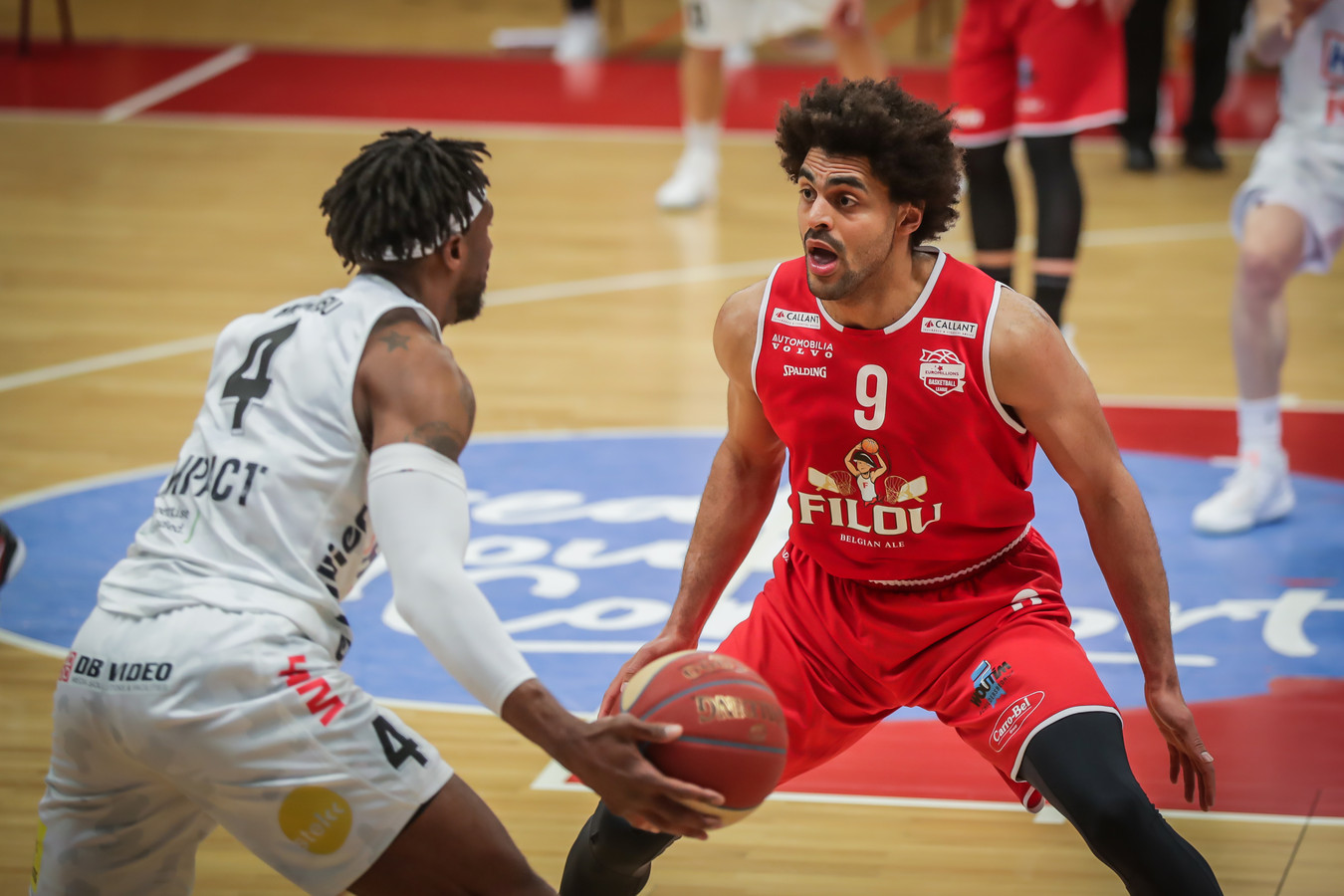 Jean-Marc Mwema (Filou Oostende) maakt woensdag zijn rentree in en tegen Luik.
