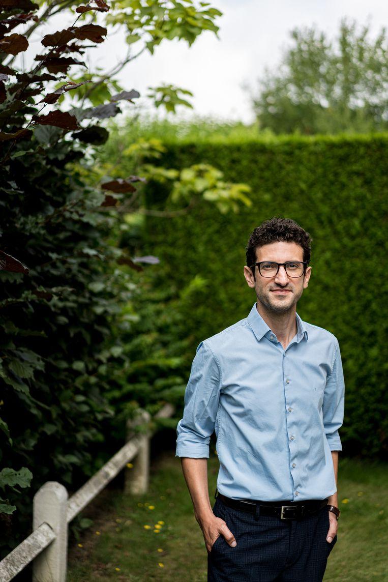 Mohamed Ridouani, burgemeester van Leuven. Beeld Wouter Van Vooren