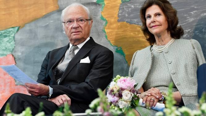 Zweedse koningin Silvia breekt haar pols na val