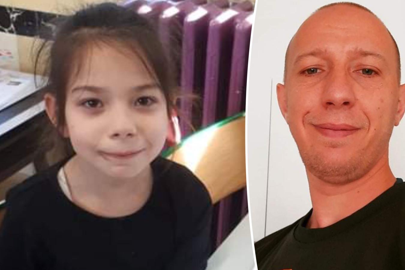 Sébastien Caty (36) en zijn dochtertje Talya (8).