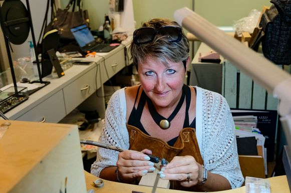 Zaakvoerster Isabelle Lecluyse (39) van ArtisA.