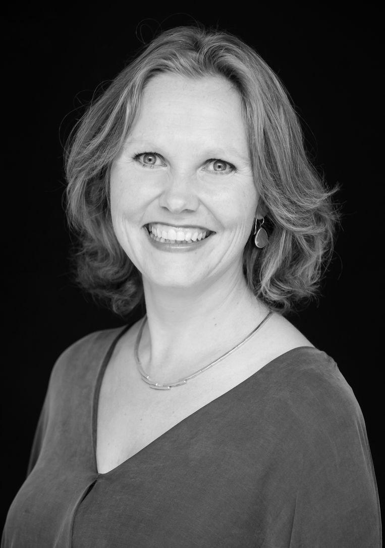 Merei Lubbe, partner bij economisch adviesbureau LPBL in Amsterdam. Beeld Helene Wiesenhaan