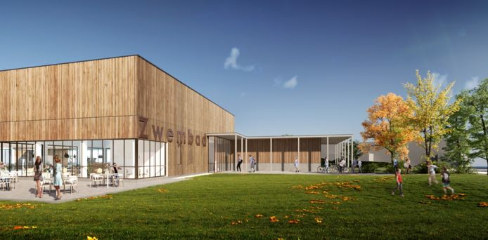 Het nieuwe intergemeentelijke zwembad zal normaal openen in januari of februari 2022.