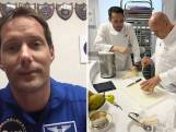 Franse astronaut kookt voor collega's in de ruimte