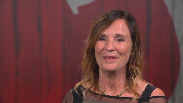 Karen Boelaerts in 'First Dates'.