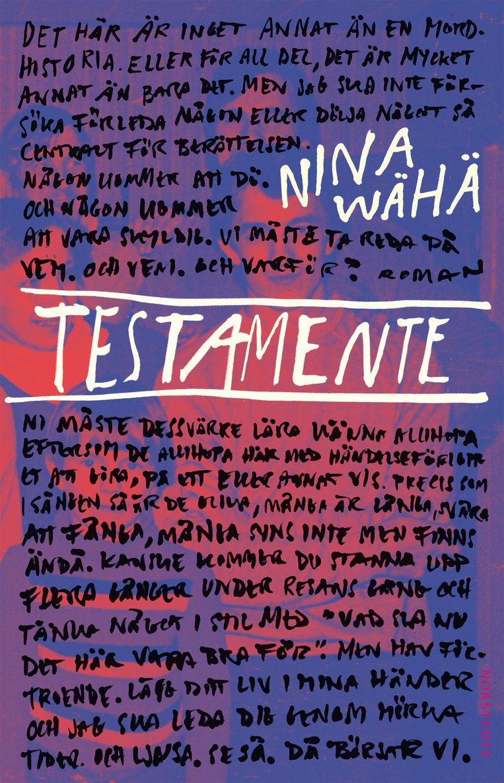 Nina Wähä, 'Testament', Prometheus, 462 p., 24,99 euro. Vertaald door Edith Sybesma. Beeld rv