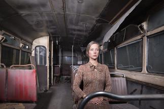 fotoreeks over Inbreker op naaldhakken: de zelfportretten van Jennifer Kesteleyn