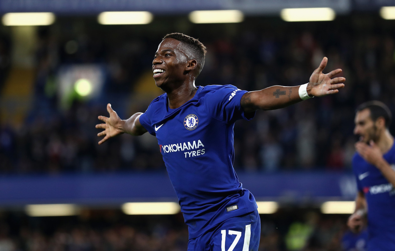 Charly Musonda Jr. kon de hoge verwachtingen bij Chelsea niet inlossen. Beeld Getty Images