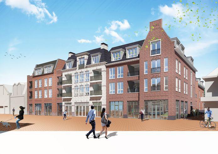 Voordat de bouw van het nieuwe woon-winkelcomplex aan de Haarstraat kan beginnen, moet eerst de voormalige AH-vestiging worden gesloopt. Dat gebeurt aan het eind van dit jaar.