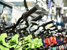 Première: fietswedstrijd in parkeergarage op HTC in Eindhoven