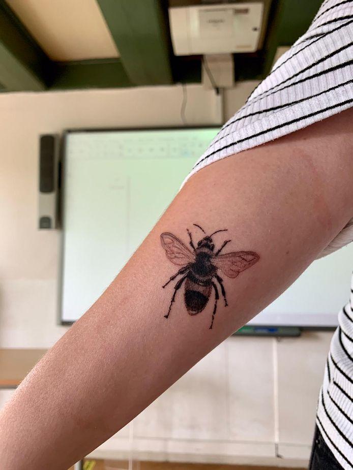 De tattoo van Juf Sophie