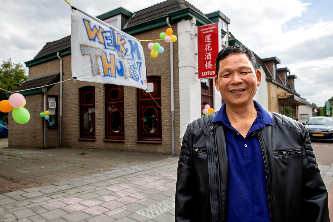 Qiyue Luo en zijn vrouw zaten bijna vijf maanden vast in China.