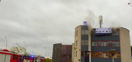 Brand in gebouw aan De Run in Veldhoven