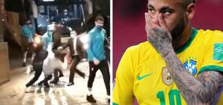 Neymar taclé par des fans un peu trop enthousiastes