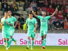LIVE | PSV leidt dankzij prachtgoal Gakpo, maar Go Ahead bijt flink van zich af