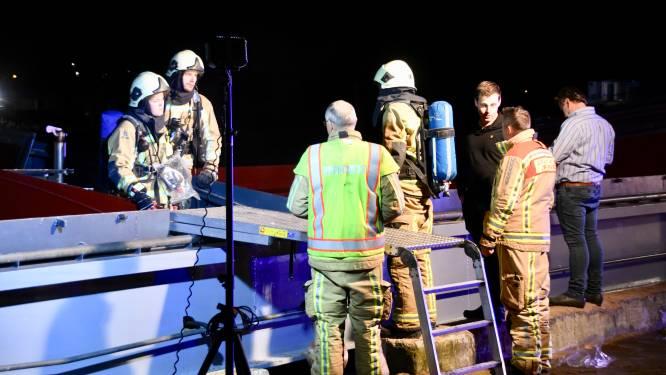 Brandje aan dieselgenerator op vrachtschip snel onder controle