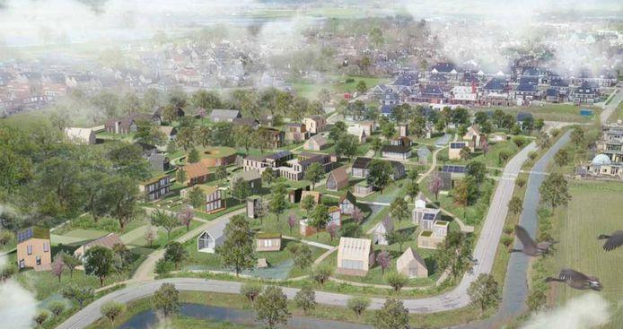 Olstergaard is één van de woningbouwprojecten in Olst-Wijhe die er zeker komt. Maar de gemeente wil de komende tien jaar veel meer bouwen.