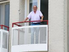 Oud-voetballer Sym Beuk (ODS) straalde als jong broekie al gezag uit