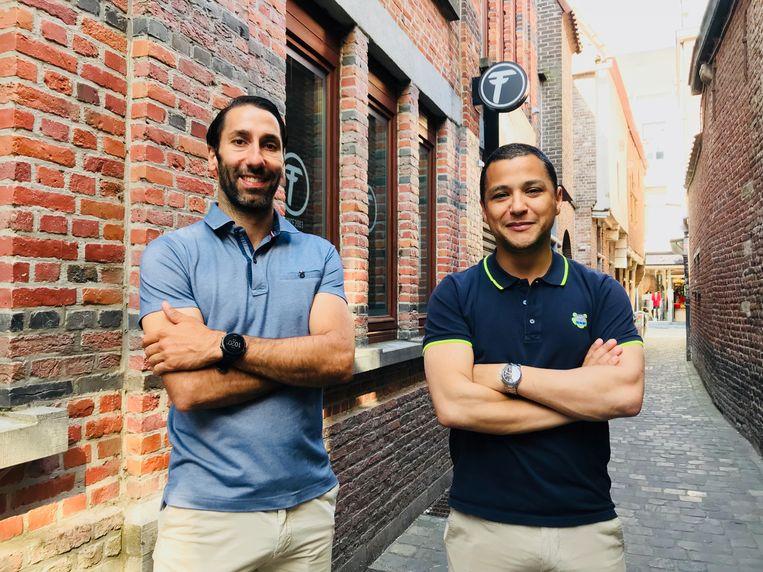 Filip De Meester en Karim Touh.