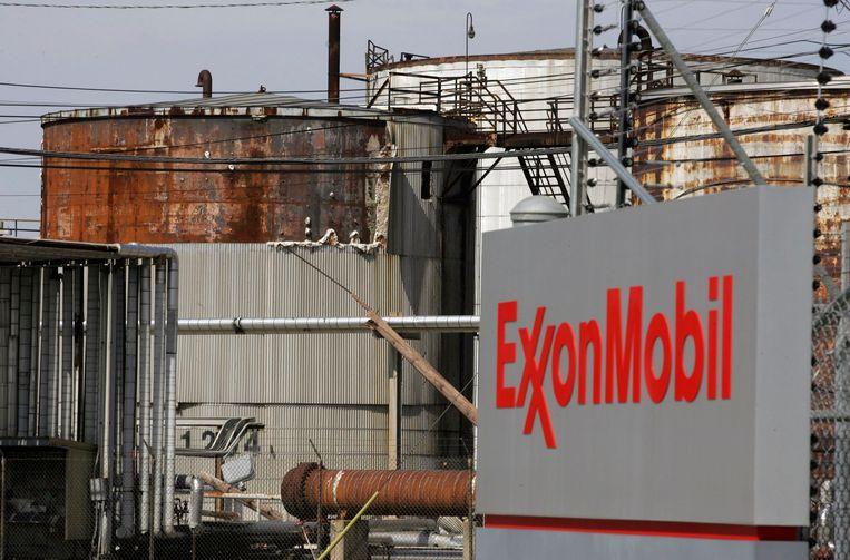 Een Exxon Mobil-raffinaderij in Texas. Beeld Reuters
