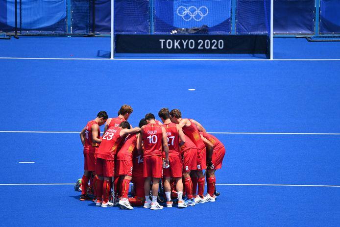 Les Red Lions ont soigné leur confiance avant d'entamer leur tournoi olympique.