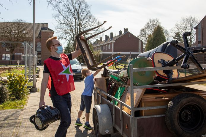 PVDA Sint-Truiden organiseerde afgelopen week zelf een Grote Lentexchoonmaak.