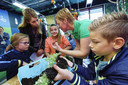 Leerlingen van basisscholen in Noordoost-Brabant krijgen meer lessen over voedsel, zoals in Schijndel.