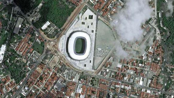 De Castelao Arena ion Fortaleza.