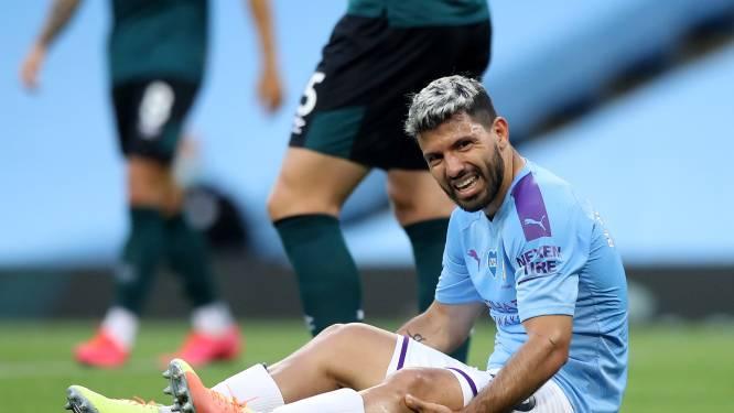 """City retient son souffle pour Sergio Agüero: """"Cela ne semble pas bon"""""""