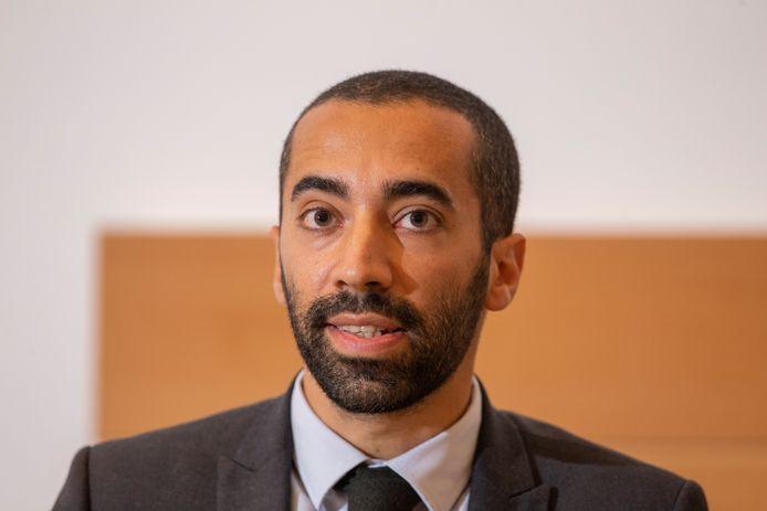 Staatssecretaris voor Asiel en Migratie Sammy Mahdi