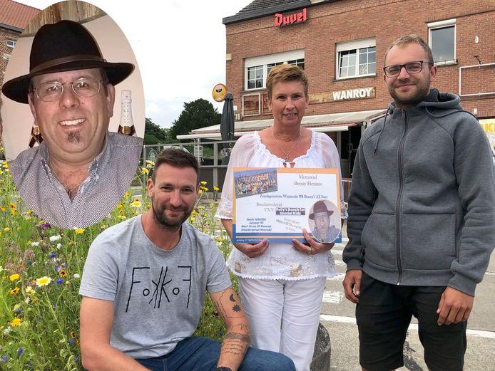 David Michiel, Karin Vanwinkelen en Jef Vanherwegen kijken alvast uit naar de benefiet ter herdenking van Benny Hennus.