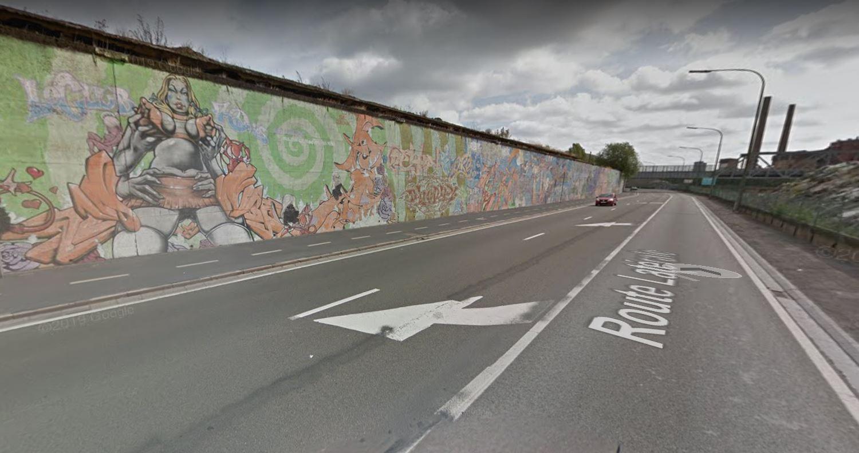La Route Latérale à Dampremy (Charleroi) devient la rue du Port