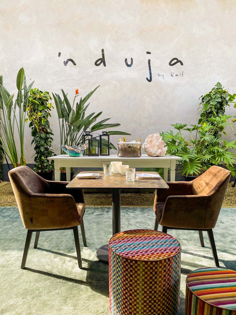 'Nduja open air by Ralf, de Zuid-Italiaanse keuken op z'n best, maar dan in Lanaken.  Beeld rv