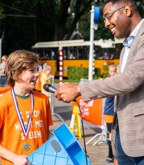 Houtense Rasmus (10) is de beste stoeprander van Nederland: 'In de klas begon iedereen te klappen'