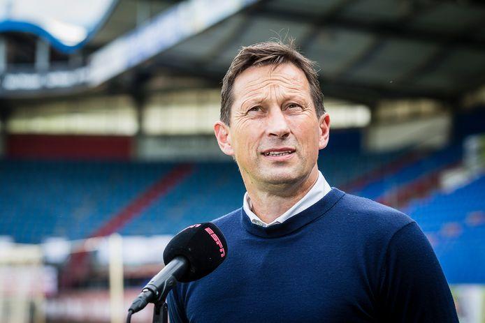 Roger Schmidt voor het duel met Willem II.