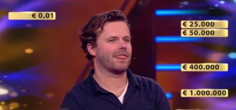 Maarten uit Enschede had vijf miljoen in zijn koffertje, maar gaat met 550.000 euro naar huis